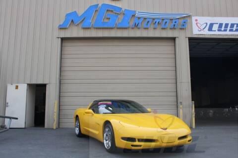 2001 Chevrolet Corvette for sale at MGI Motors in Sacramento CA