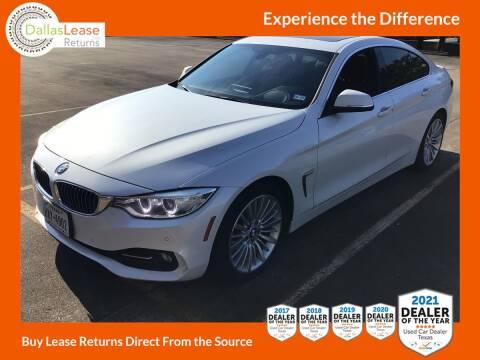 2016 BMW 4 Series for sale at Dallas Auto Finance in Dallas TX