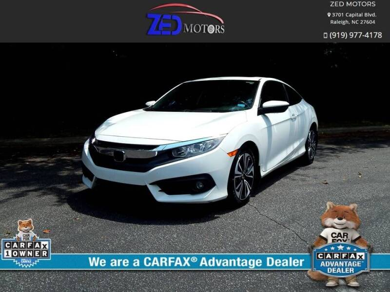 2018 Honda Civic for sale at Zed Motors in Raleigh NC