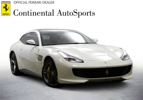2019 Ferrari GTC4Lusso for sale at CONTINENTAL AUTO SPORTS in Hinsdale IL