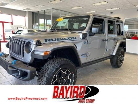 2021 Jeep Wrangler 4xe for sale at Bayird Truck Center in Paragould AR