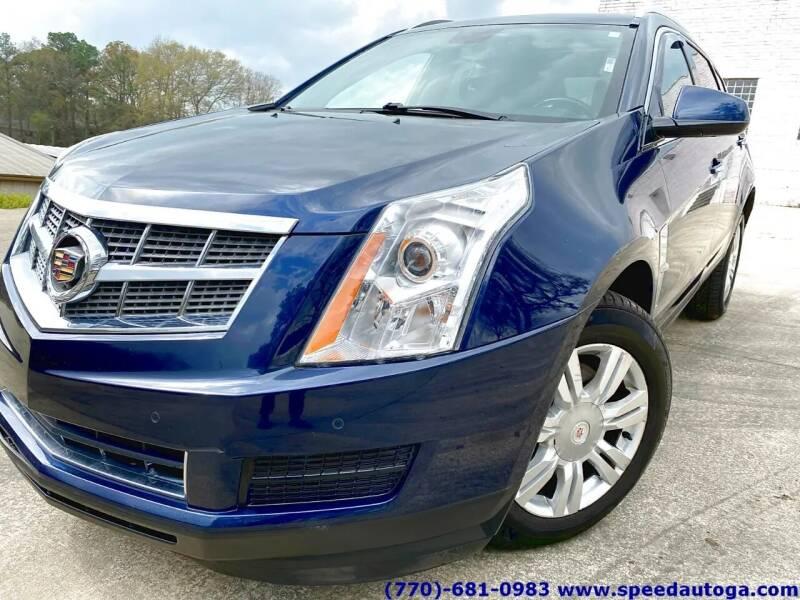 2010 Cadillac SRX for sale at JES Auto Sales LLC in Fairburn GA
