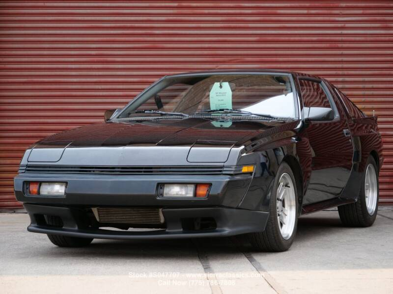 1987 Mitsubishi Starion for sale at Sierra Classics & Imports in Reno NV