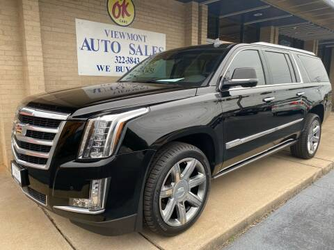 2016 Cadillac Escalade ESV for sale at Viewmont Auto Sales in Hickory NC