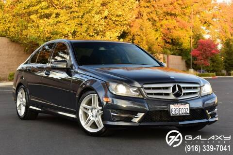 2013 Mercedes-Benz C-Class for sale at Galaxy Autosport in Sacramento CA