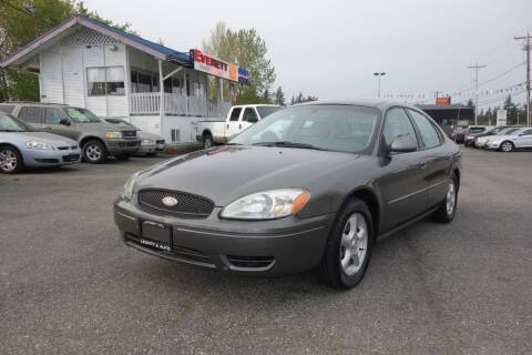 2004 Ford Taurus for sale at Leavitt Auto Sales and Used Car City in Everett WA