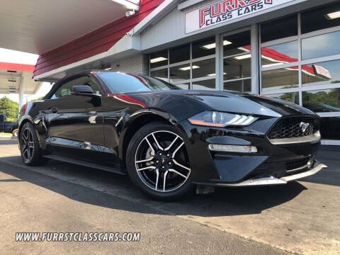 2019 Ford Mustang for sale at Furrst Class Cars LLC  - Independence Blvd. in Charlotte NC