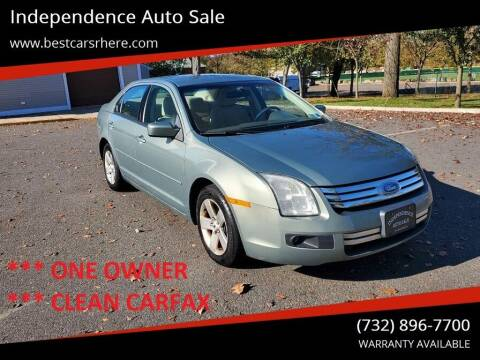 2009 Ford Fusion for sale at Independence Auto Sale in Bordentown NJ