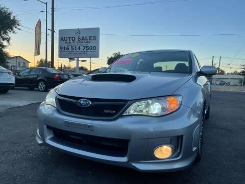 2013 Subaru Impreza for sale at A1 Auto Sales in Sacramento CA