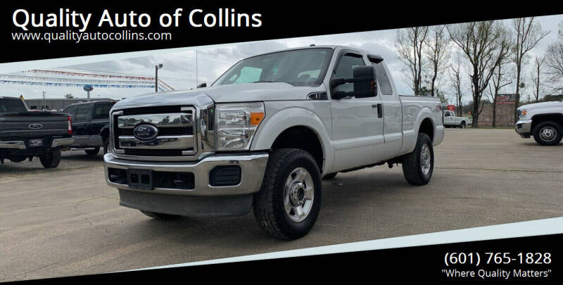 2012 Ford F-250 Super Duty for sale at Quality Auto of Collins in Collins MS