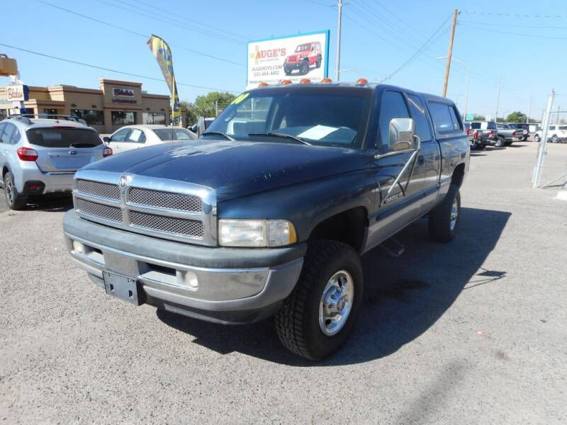 2000 Dodge Ram Pickup 2500 for sale at AUGE'S SALES AND SERVICE in Belen NM