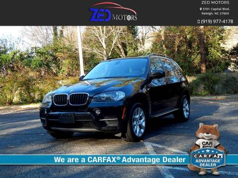 2011 BMW X5 for sale at Zed Motors in Raleigh NC