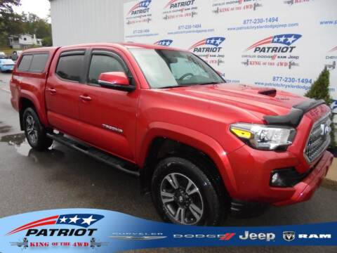 2017 Toyota Tacoma for sale at PATRIOT CHRYSLER DODGE JEEP RAM in Oakland MD