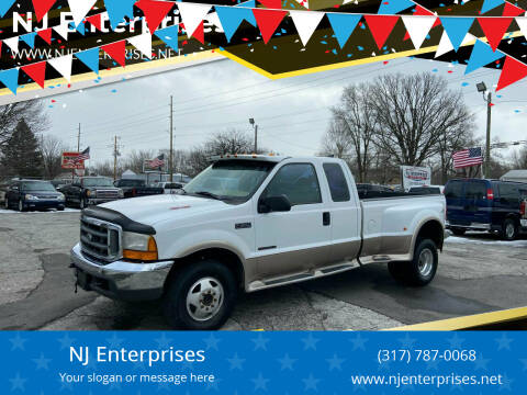 1999 Ford F-350 Super Duty for sale at NJ Enterprises in Indianapolis IN