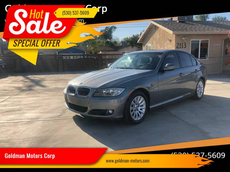 2009 BMW 3 Series for sale at Goldman Motors Corp in Stockton CA