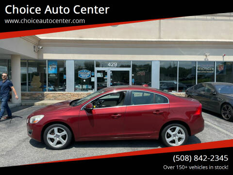 2012 Volvo S60 for sale at Choice Auto Center in Shrewsbury MA