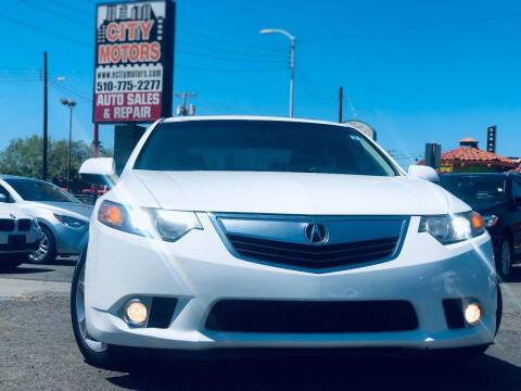 2012 Acura TSX for sale at City Motors in Hayward CA