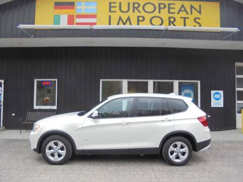 2011 BMW X3 for sale at EUROPEAN IMPORTS in Lock Haven PA