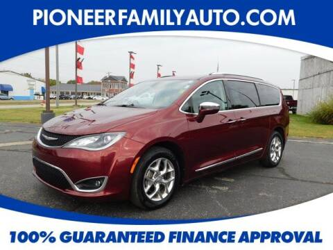 2018 Chrysler Pacifica for sale at Pioneer Family auto in Marietta OH