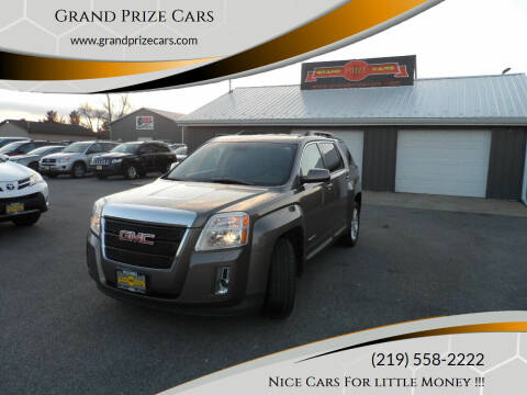 2012 GMC Terrain for sale at Grand Prize Cars in Cedar Lake IN