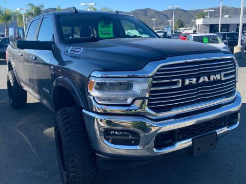 2019 RAM Ram Pickup 2500 for sale at BILLY D SELLS CARS! in Temecula CA