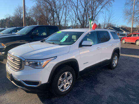 2018 GMC Acadia for sale at PAPERLAND MOTORS - Fresh Inventory in Green Bay WI