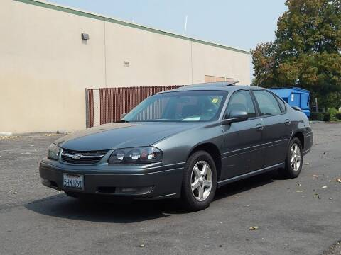 2005 Chevrolet Impala for sale at Crow`s Auto Sales in San Jose CA