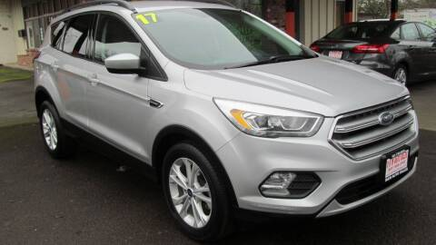 2017 Ford Escape for sale at D & M Auto Sales in Corvallis OR