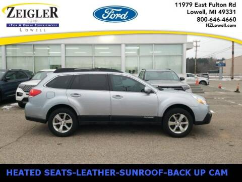 2013 Subaru Outback for sale at Zeigler Ford of Plainwell- michael davis in Plainwell MI