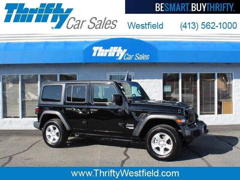 2020 Jeep Wrangler Unlimited for sale at Thrifty Car Sales Westfield in Westfield MA