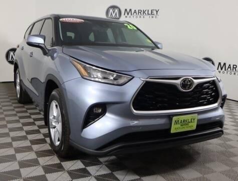 2020 Toyota Highlander for sale at Markley Motors in Fort Collins CO