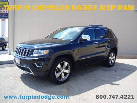 2014 Jeep Grand Cherokee for sale at Turpin Dodge Chrysler Jeep Ram in Dubuque IA
