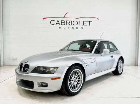 2001 BMW Z3 for sale at Cabriolet Motors in Morrisville NC