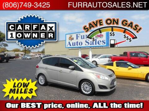 2016 Ford C-MAX Hybrid for sale at FURR AUTO SALES in Lubbock TX