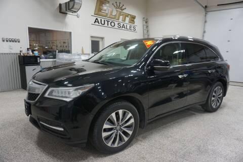 2014 Acura MDX for sale at Elite Auto Sales in Idaho Falls ID