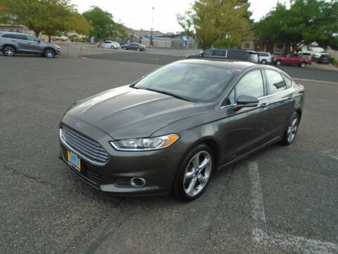 2015 Ford Fusion for sale at Team D Auto Sales in Saint George UT