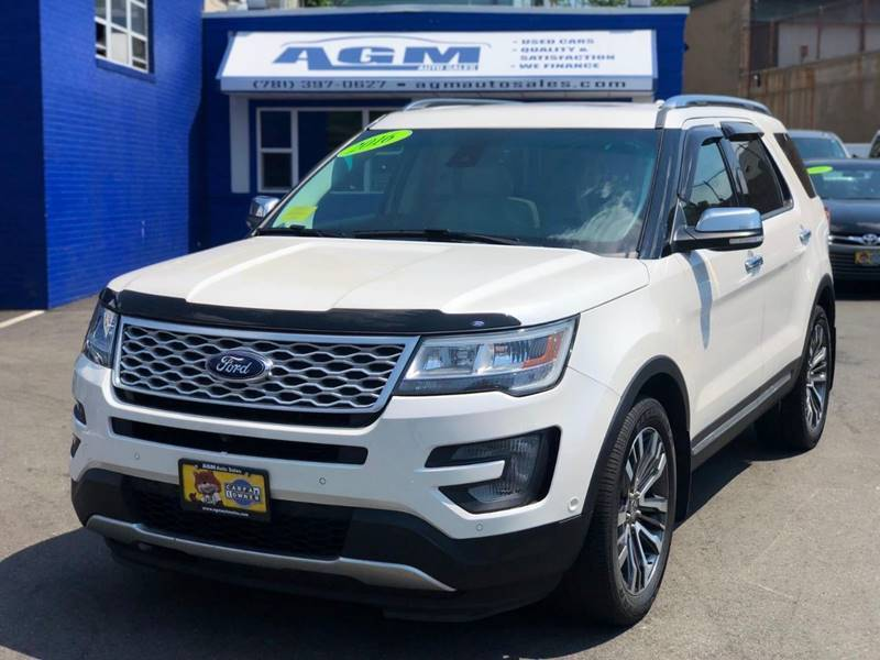 2016 Ford Explorer for sale at AGM AUTO SALES in Malden MA