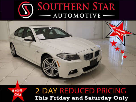 2014 BMW 5 Series for sale at Southern Star Automotive, Inc. in Duluth GA