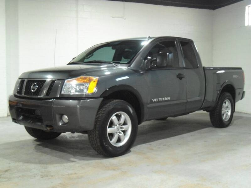 2012 Nissan Titan for sale at Ohio Motor Cars in Parma OH