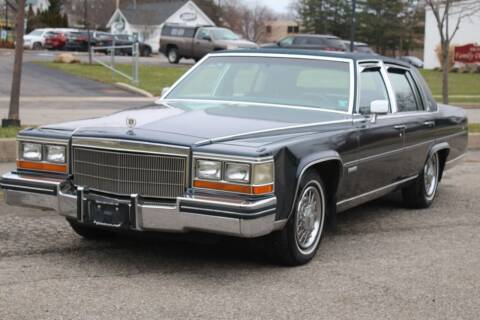 1982 Cadillac Fleetwood Brougham for sale at Great Lakes Classic Cars & Detail Shop in Hilton NY