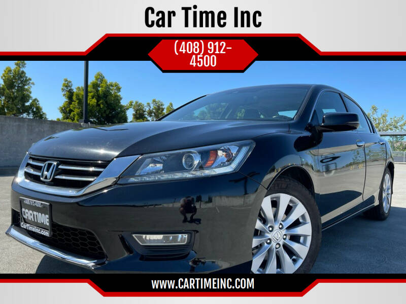 2013 Honda Accord for sale at Car Time Inc in San Jose CA