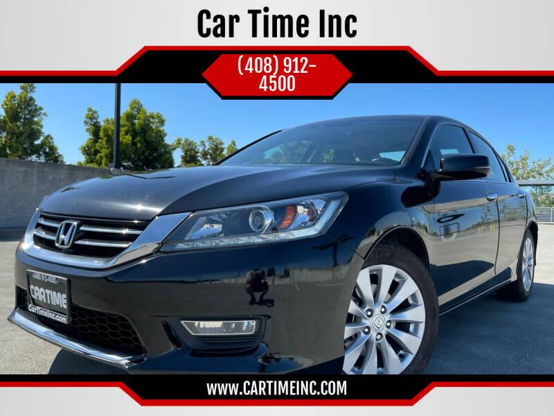 2013 Honda Accord for sale at Car Time Inc in San Jose CA