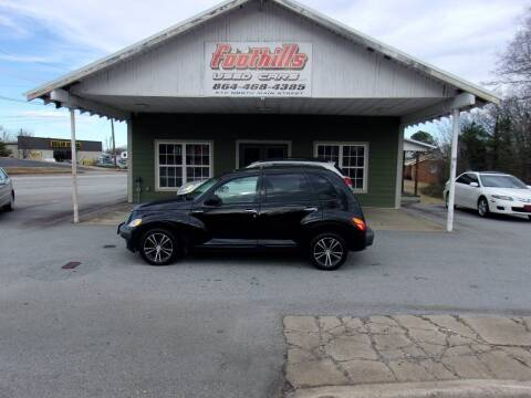2001 Chrysler PT Cruiser for sale at Foothills Used Cars LLC in Campobello SC