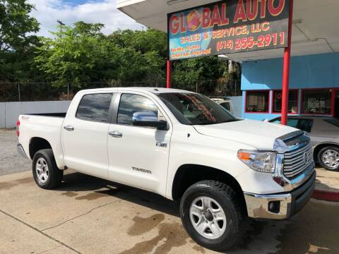 2014 Toyota Tundra for sale at Global Auto Sales and Service in Nashville TN