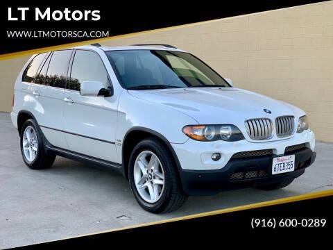 2004 BMW X5 for sale at LT Motors in Rancho Cordova CA