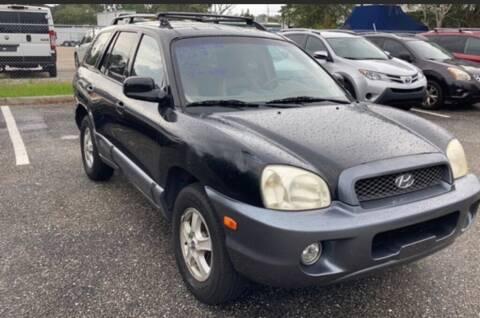 2004 Hyundai Santa Fe for sale at Cobalt Cars in Atlanta GA