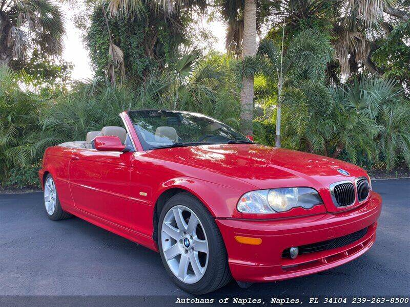 2002 BMW 3 Series for sale at Autohaus of Naples in Naples FL