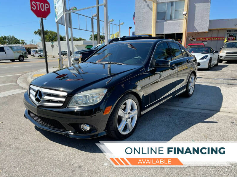 2010 Mercedes-Benz C-Class for sale at Global Auto Sales USA in Miami FL