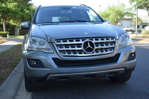 2010 Mercedes-Benz M-Class for sale at Monaco Motor Group in Orlando FL