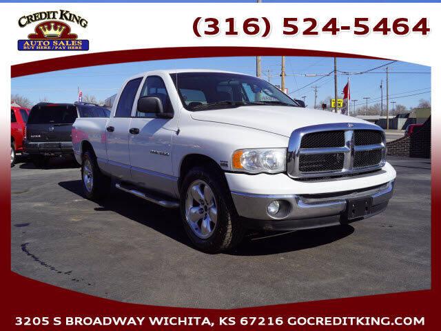 2004 Dodge Ram Pickup 1500 for sale at Credit King Auto Sales in Wichita KS